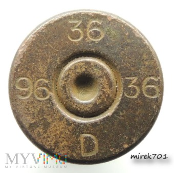 Łuska 6,5x54R Mannlicher 36 36 D 96