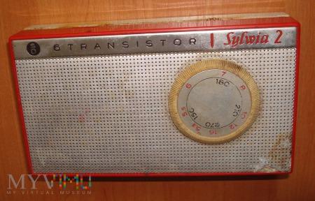 Radio tranzystorowe Sylwia 2