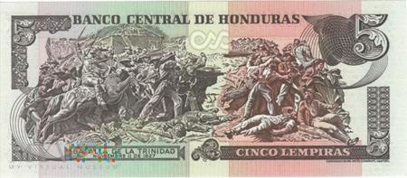 HONDURAS 5 LEMPIRAS 2004
