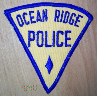 Ocean Ridge policja