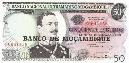 Mozambik - 50 escudos (1976)