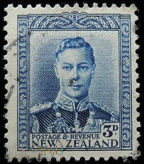 Nowa Zelandia 3D Jerzy VI