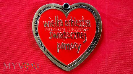 Medal WOŚP 23 Finał Września