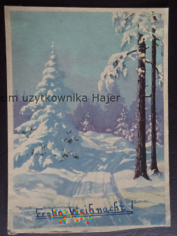 Kartka pocztowa - malarstwo
