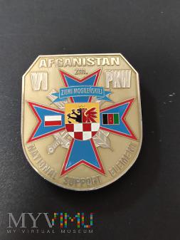 Odznaka VI Zmiany PKW w Afganistanie