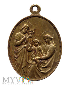 Medalik Arcybractwa Najświętszej Rodziny