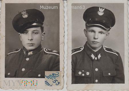 Podchorążowie Szkoły Oficerskiej.1953 r.