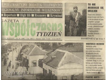 Duże zdjęcie Gazeta Współczesna