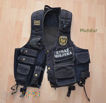 Kamizelka taktyczna Straży Miejskiej