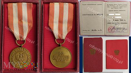Medalem Zwycięstwa i Wolności 1945.
