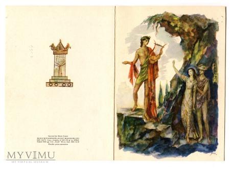 Jan Marcin Szancer karnet Orfeusz i Eurydyka