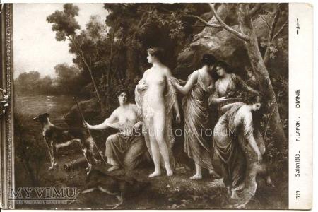 F. Lafon - Diana przygotowuje się do kąpieli