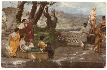 Henryk Siemiradzki - Ogród Dioclecjana