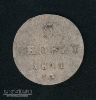 5 groszy 1811