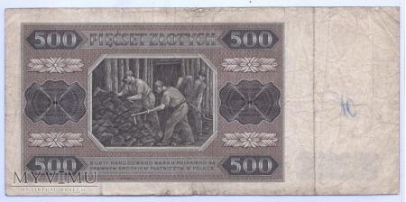 500 złotych - 1948.