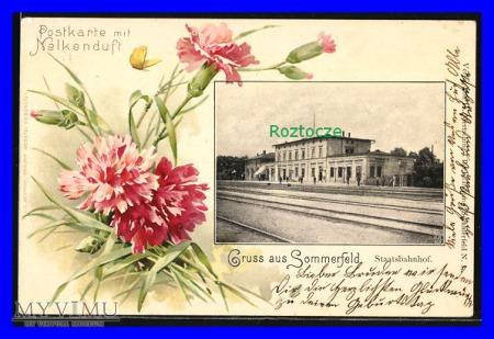 LUBSKO Sommerfeld , Dworzec kolejowy