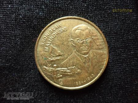 2 zł z 2002 r.Malinowski