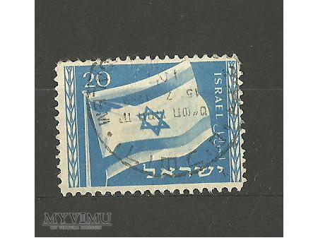 Flaga Izraela.