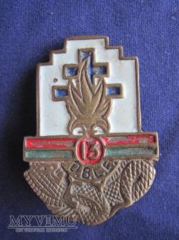 13e demi-brigade de Légion étrangère Locale