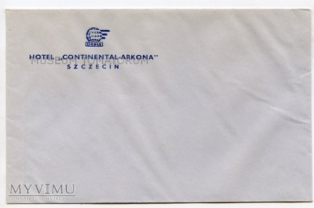 """Duże zdjęcie Szczecin Hotel Orbis """"Continental-Arkona"""" - 1971"""