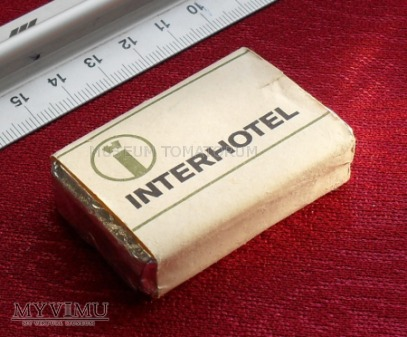 Mydełko podróżne - Interhotel - Episan - NRD DDR