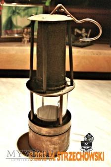 Lampa górnicza benzynowa C. Wittek
