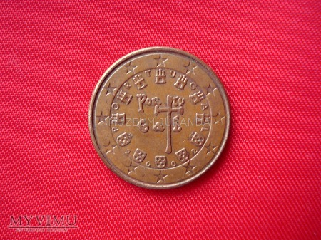 5 euro centów - Portugalia