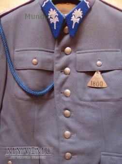 Mundur słuzbowy starszego sierżanta MO wz.55
