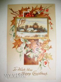 1910 Życzenia Wesołych Świąt