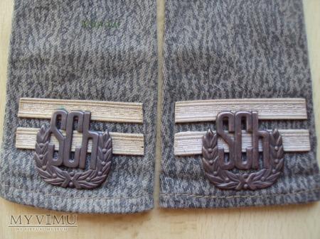 Pochewki z oznakami stopnia - kapral SCh