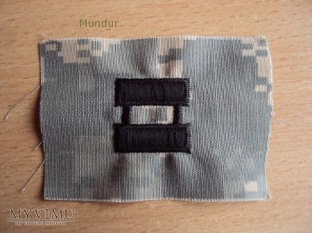 US Army: oznaki stopnia - kapitan