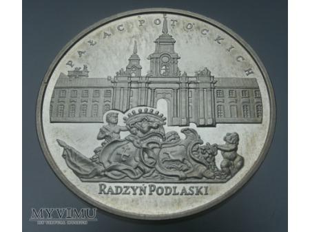 Pałac Potockich - Radzyń Podlaski.