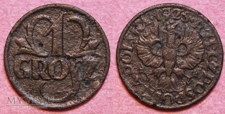 1925, 1 grosz