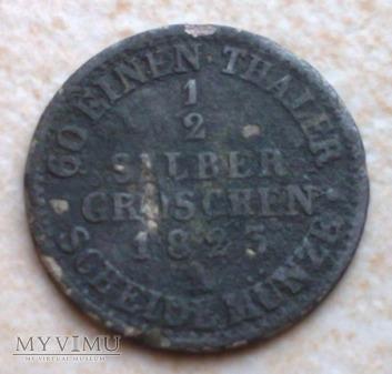 1/2 Silber Groschen 1823 A Prusy