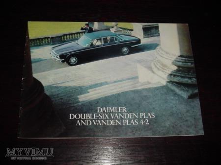 Prospekt DAIMLER DOUBLE-SIX & VANDEN PLAS