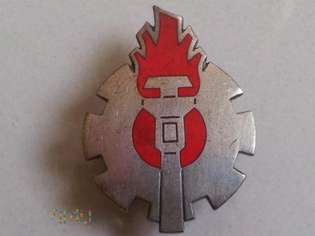 Duże zdjęcie Odznaka - Wyszkolenie Mechanika Obsługi Motopompy