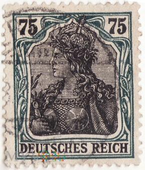 Znaczek Deutches Reich 1905