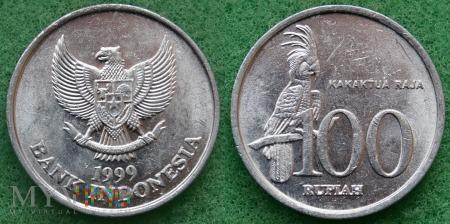 Indonezja, 100 RUPIAH 1999