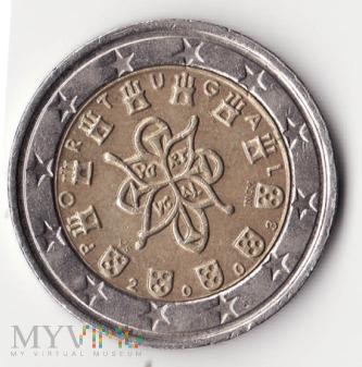 Portugalia 2 euro 2003