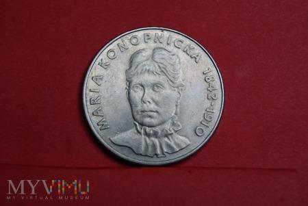 20 złoty Maria Konopnicka 1978 PRL