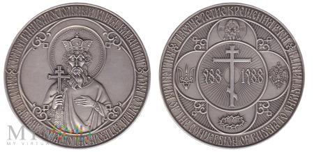 1000-lecie Chrztu Rusi medal (KRA) 988-1988 (2)