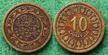 Tunezja, 10 millimes 1960