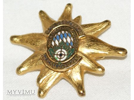 Odznaka szarotka Oberlaugau