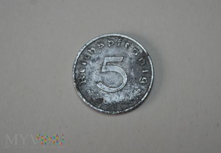 5 pfennigów 1940 A