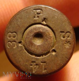 Łuska 7,92 x 57 mm Mauser P S* 14 38