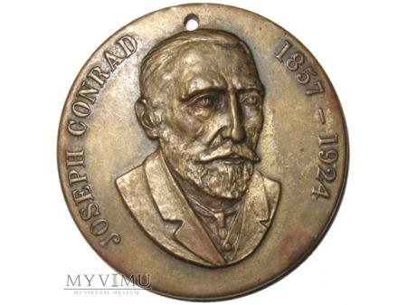 Joseph Conrad medal jednostronny 1924