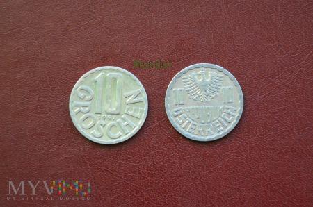 Moneta austriacka: 10 groschen