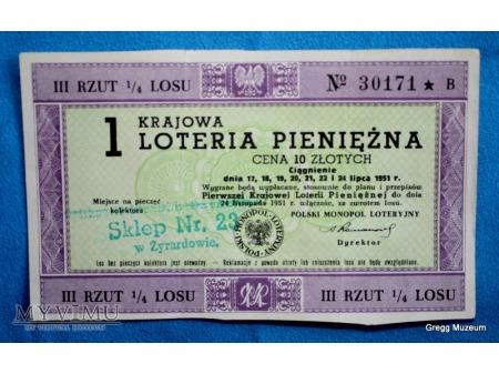 1 Krajowa Loteria Pieniężna