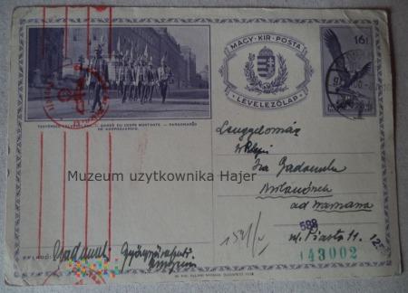 Obozy internowania na Węgrzech 7.VIII.41