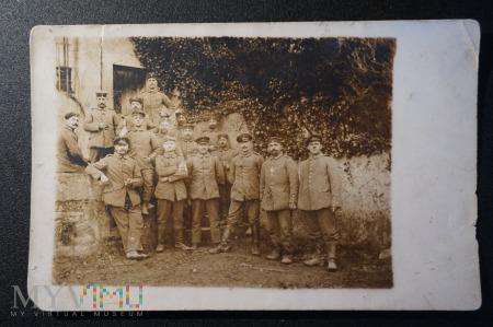 Duże zdjęcie Zdjęcie żołnierzy - gdzieś kiedyś w armii